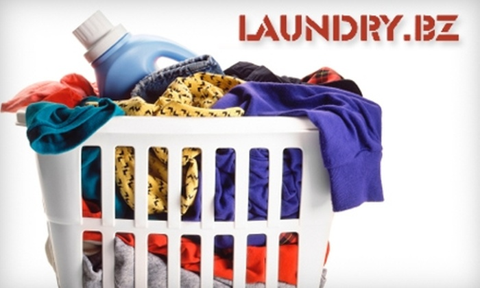 Laundry.bz - New York City: $15 for $30 Worth of Pick-Up and Drop-Off Laundry Service from Laundry.bz