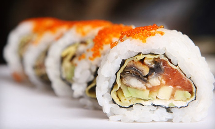 iSushi Café - Multiple Locations: $15 for $30 Worth of Sushi and Asian Fare at iSushi Café