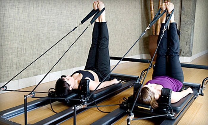 The Scoop-A Pilates Studio - Webster Groves: $35 for Four Group Pilates Classes at The Scoop in Webster Groves (Up to $80 Value)