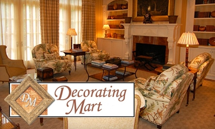 Decorating Mart - Acworth-Kennesaw: $35 for $100 Worth of Home Furnishings at Decorating Mart in Kennesaw