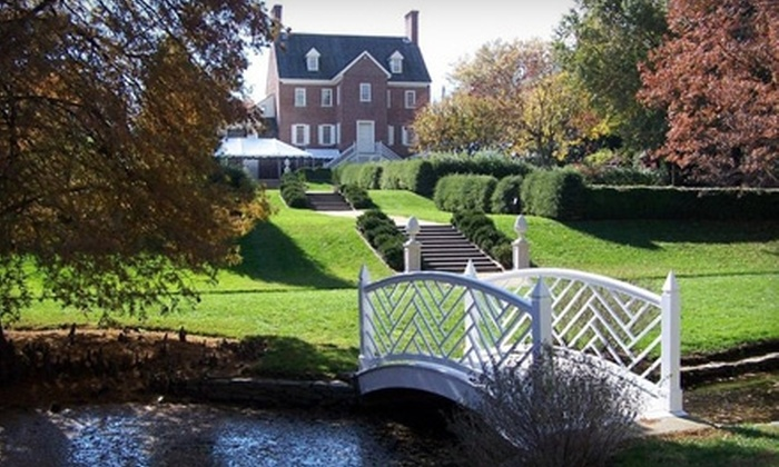 William Paca House & Garden - Annapolis: $10 for Admission to a Guided Tour for Two at the William Paca House & Garden in Annapolis (Up to $20 Value)