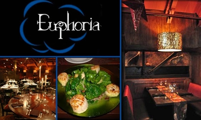 Euphoria - Downtown Indianapolis: $25 for $50 Worth of Dinner, Drinks, and Cheese at Euphoria