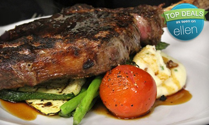 Gaslight Grill - Cornerstone Of Leawood: Dinner for Two, $20 for $40 Worth of American Cuisine, or $12 for $25 Worth of Brunch at Gaslight Grill in Leawood