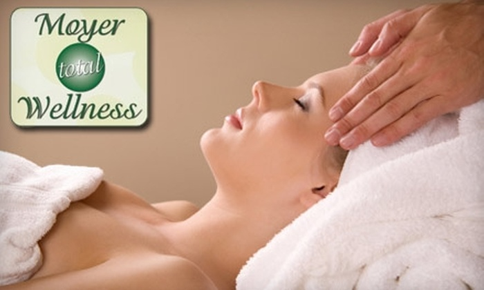 Moyer Total Wellness - Cory - Merrill: One-Hour Custom Massage and Wellness-Plan Package at Moyer Total Wellness (Up to $319 Value). Choose from Three Options.