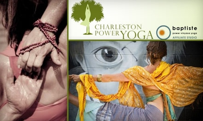 Charleston Power Yoga - Cannonborough - Elliottborough: $26 for a Five-Class Pass to Charleston Power Yoga ($65 Value)