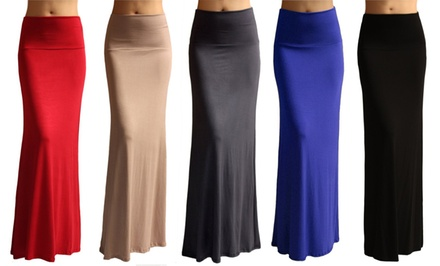 Maxi Skirts. Multiple Colors Available.