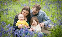 Outdoor Family Photoshoot with Prints or a Canvas at Nick and Emily Photography (Up to 92% Off)