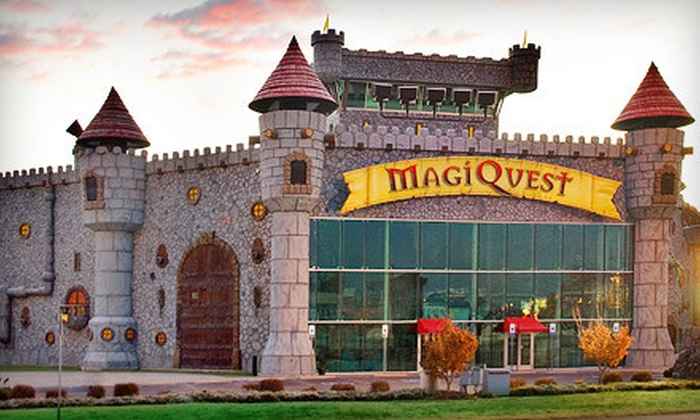 MagiQuest - Pigeon Forge: $10 for an Aventure Package with MagiQuest Adventure Game, PIrate Mini Golf, Mirror Maze, and Vault Laser Challenge at MagiQuest in Pigeon Forge ($20 Value)
