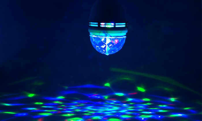 Casavida Rotating LED Strobe Bulbs for Parties, Clubs, and Bars