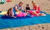 Tapis de plage anti-sable