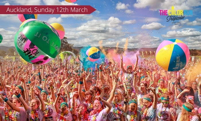 The Color Run - Auckland - Auckland: The Color Run™ 5K Race Entry for $50 (Plus Booking Fee), 12 March, QBE Stadium, Albany