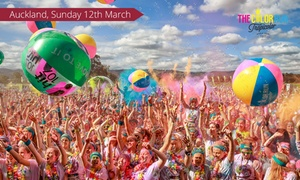 The Color Run - Auckland: The Color Run™ 5K Race Entry for $50 (Plus Booking Fee), 12 March, QBE Stadium, Albany