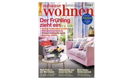 jahres abo zu hause wohnen groupon. Black Bedroom Furniture Sets. Home Design Ideas