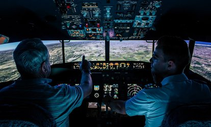 Flight Simulator Experience - 30 ($49), 60 ($79) or 90 Minutes ($129) at Flight Sim (Up to $230 Value)