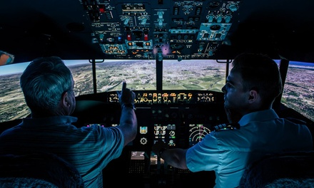 Flight Simulator Experience: 30 ($49), 60 ($79) or 90 Minutes ($129) at Flight Sim (Up to $230 Value)