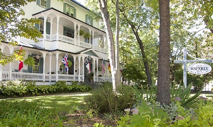 Historic Inn with Optional Romance Package near Asheville