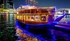 Two Hour Creek Dinner Cruise: Child (AED 49), Adult (AED 58)