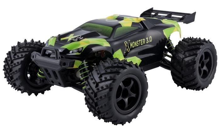TitoloMacchina telecomandata X Monster 3.0 Overmax con velocità fino a 45 km/h