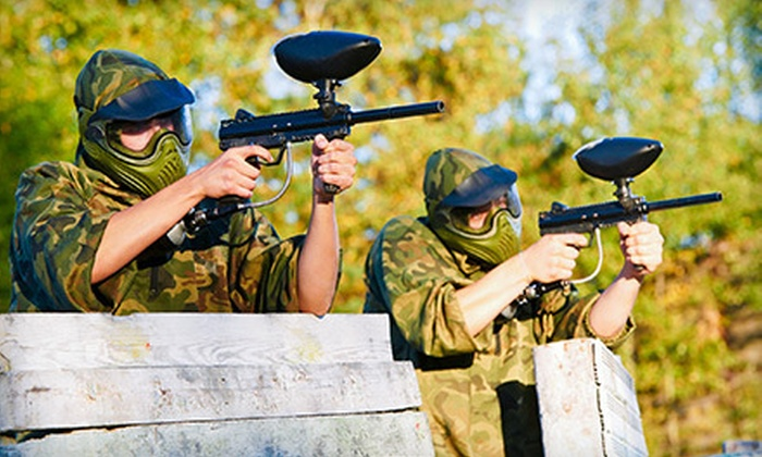 T.C. Paintball - Charlotte: $ 29 for All-Day Paintball for Two with Equipment Rental and 500 Paintballs at T.C. Paintball ($ 62 Value)