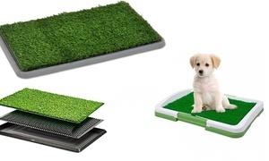 Litière herbe synthétique chien