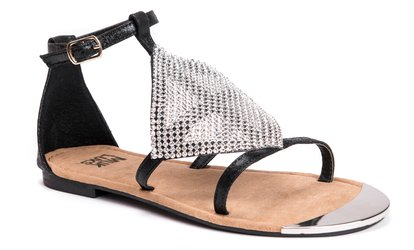 Image Placeholder For Muk Luks Womens Buckle Fashion Sandals