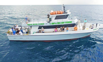 Four-Hour Deep-Sea Day Fishing Trip for One, Two, Three, or Four from Sea Legs III (Up to 24% Off)