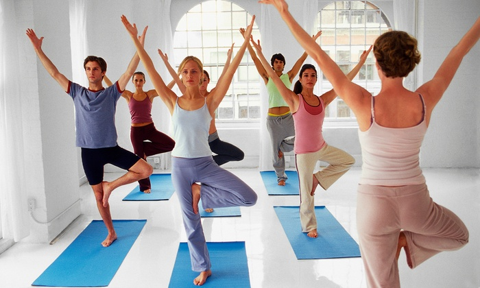 The Heart Spot - Johnston: 5 or 10 Yoga Classes at The Heart Spot (Up to 54% Off)