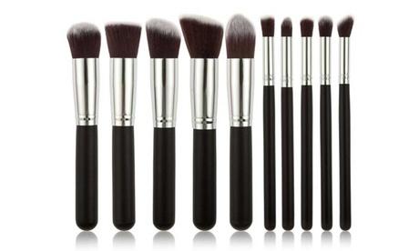 1, 2 ou 3 sets de 10 pinceaux de maquillage kabuki