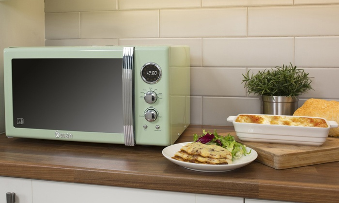Swan SM22085 25L Digital Microwave in Choice of Colour