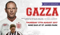 Entry and Food-Only Ticket to An Evening with Paul Gascoigne, 17 August at Nine Sports Bar & Lounge (Up to 25% Off)