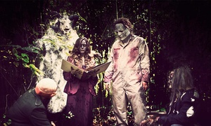 Up to 53% Off a VIP Visit to a Haunted Attraction at Grim Trails, plus 6.0% Cash Back from Ebates.