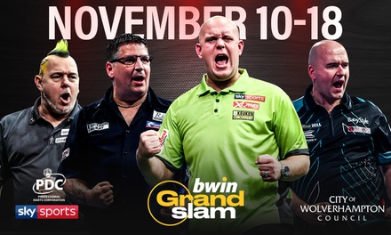 Bwin Grand Slam of Darts, 11 18 November, Aldersley Leisure Village