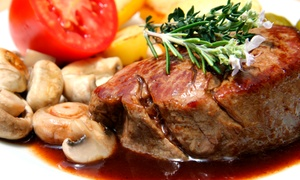 Black Bull Chop House: Steakhouse Fare and Drinks at Black Bull Chop House (40% Off)