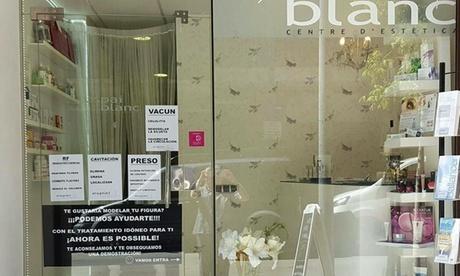Higiene facial con tratamiento personalizado y masaje facial con opción a presoterapia desde 19,95 € en Espai Blanc