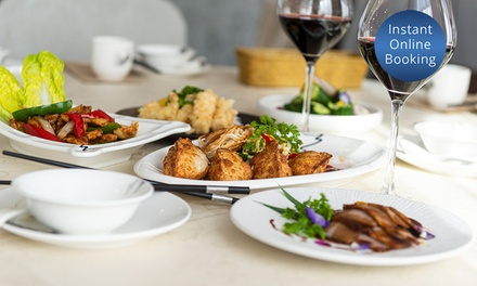 5Course Chinese Fine Dining with Wine $69, 4 $138 or 6 People $207 at WuYu Cuisine Up to $354.30 Value