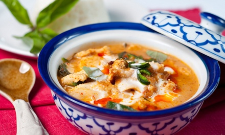 Thai Food for Lunch or Dinner at Thai Topaz Medical Center (Up to 44% Off)