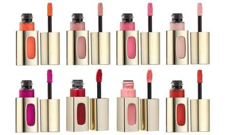 Ensemble de 4 laques à lèvres L'Oréal Extraordinaire