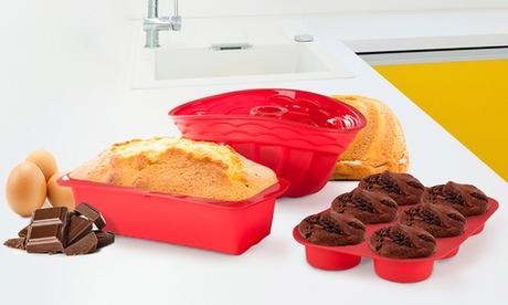 Molde de silicona flexible Easy Bake