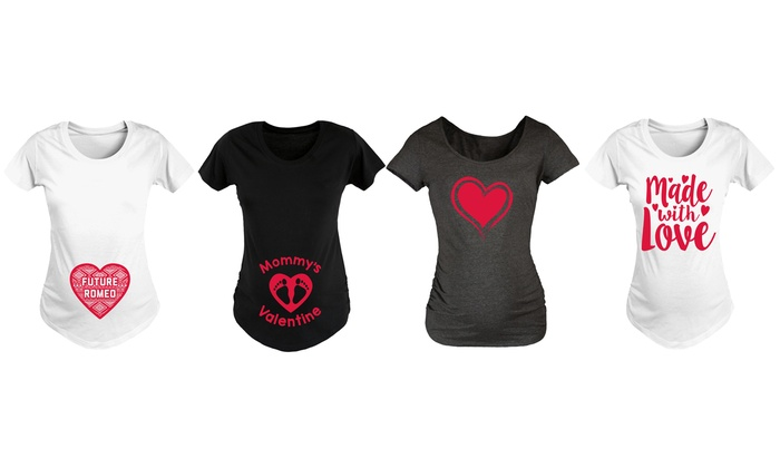 Valentines Maternity Shirts   Our T Shirt   Valentines Maternity Shirts