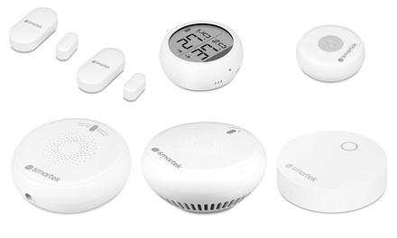 Dispositivos Smartek ZigBee para un hogar inteligente