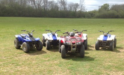 image for Five-Mile Quad Biking Experience with HA Quads (38% Off)