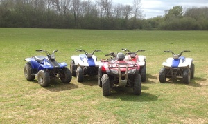 Action Adventure Activities: One-Hour Junior Quad Biking Session for One or Two at Action Adventure Activities (49% Off)