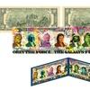 Star Wars Pop Art US Two-Dollar Bill Signed by Artist Rency