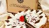 Personalisierte Sahne-Torte