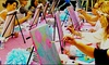 Paintaccino - Calgary: Paint Night Admission for One or Two at Paintaccino (Up to 48% Off)