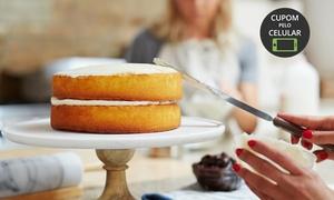 San Bolos e Doces: San Bolos e Doces - Barroca: curso de preparação de bolo naked cake ou bem-casado