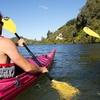 Scenic Sea Kayaking Tour to Manupirua Hot Springs