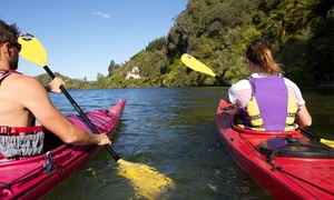 Kaituna Kayaks: Scenic Sea Kayaking Tour to Natural Hot Pools for  2 ($179) or 4 People ($320) with Kaituna Kayaks (Up to $600 Value)