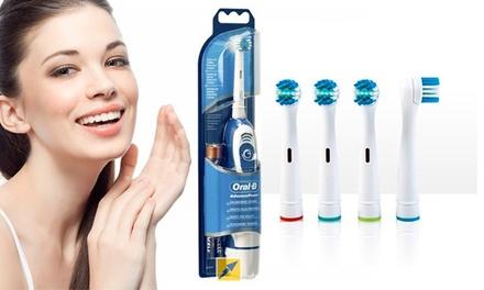 Brosse à dents électrique Oral B Advance Power et têtes de brosse compatibles dès 19,90 €
