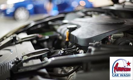 Décalaminage du moteur sans additif chimique de 60, 90 ou 120min dès 34,90€ chez American Car Wash Nantes Saint Herblain